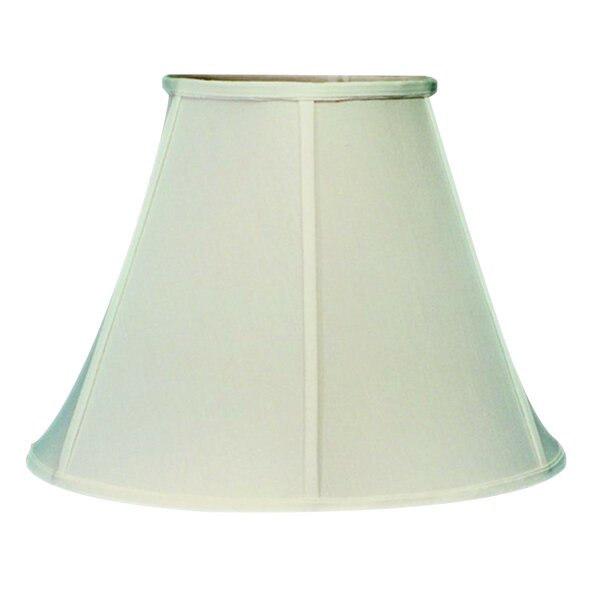 Classics Brass 17 Linen Bell Lamp Shade by Home Concept Inc
