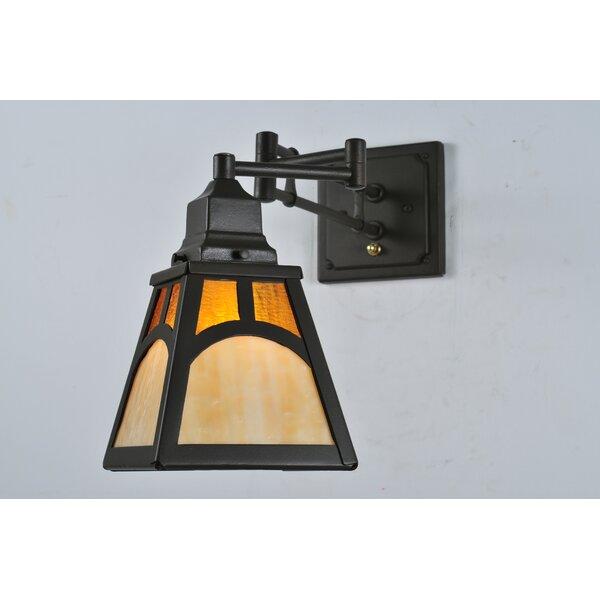 Swing Arm Lamp by Meyda Tiffany