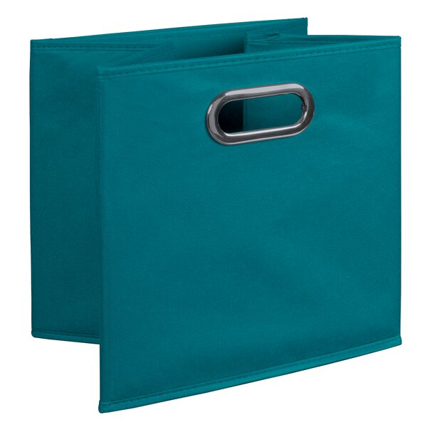 Foldable Fabric Storage Tote Set Of 12 By Rebrilliant.