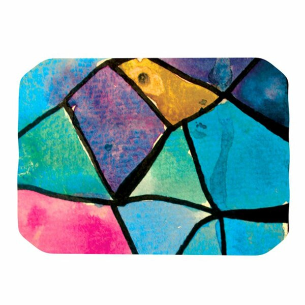 Stain Glass 2 Placemat by KESS InHouse