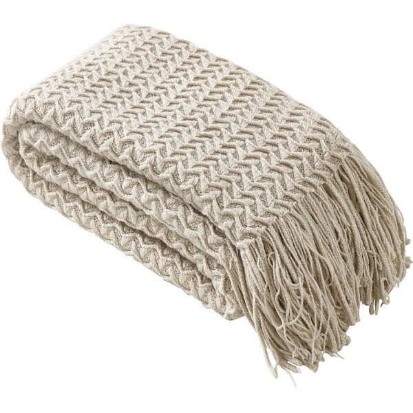 Winding Wave Throw by Eider & Ivory