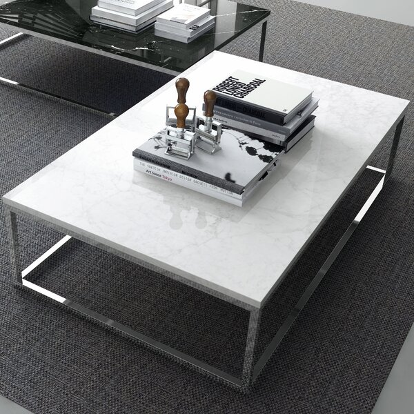 Prairie Marble Coffee Table by Tema