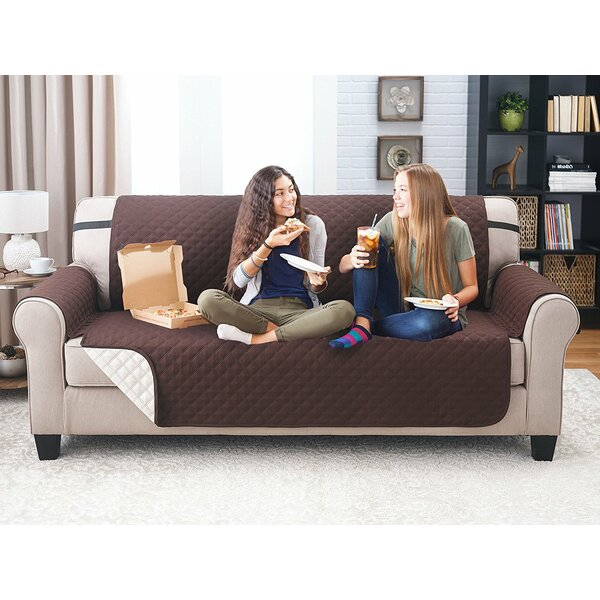 Reversible Sofa Slipcover by Winston Porter