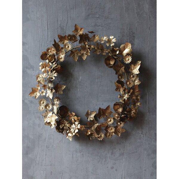 Round Metal Wreath by One Allium Way