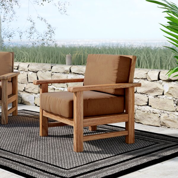 Elsmere Patio Chair by Beachcrest Home