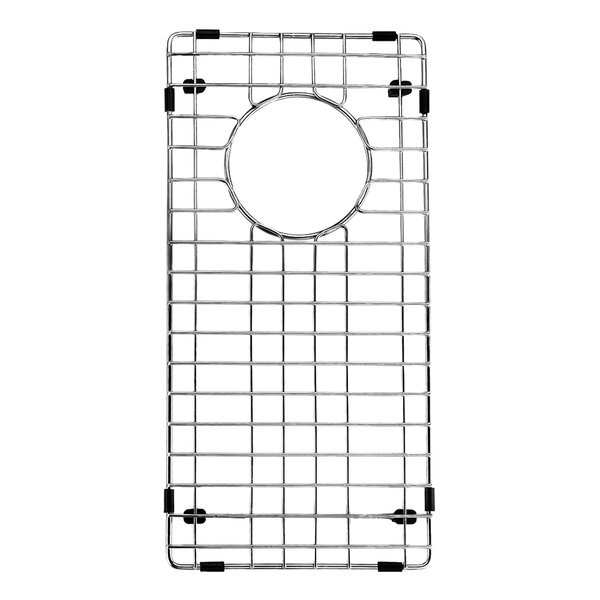 Stainless Steel Bottom Grid, 8.75-in. x 17.75-in. by VIGO