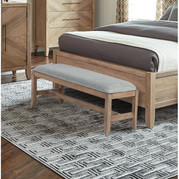 Tawny Wood Bench By Foundry Select