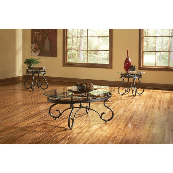 Merrimack 3 Piece Coffee Table Set by Andover Mills