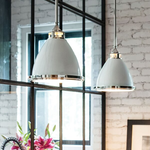 Helenie 1-Light Cone Pendant by Laurel Foundry Modern Farmhouse