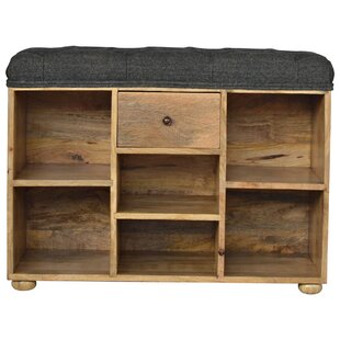 Queenstown Upholstered Shoe Storage Bench ...