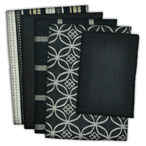 5 Piece Assorted Dishcloth Set by Charlton Home