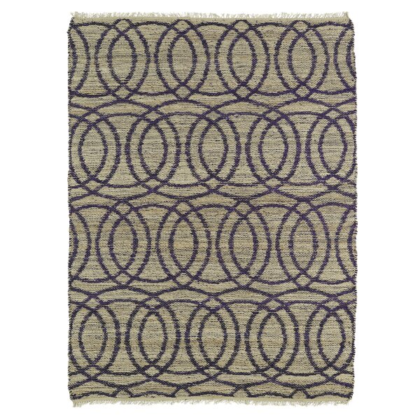 Millbourne Grey/Purple Area Rug by Wrought Studio