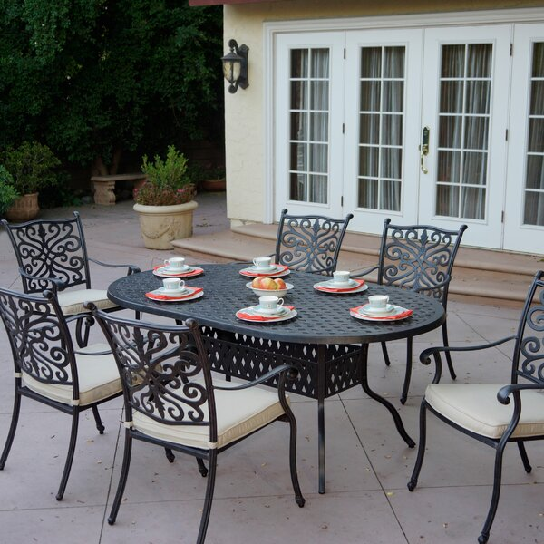Archway 6 Piece Dining Set with Cushions by Astoria Grand