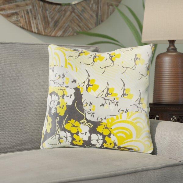 Hebert Silk Throw Pillow by Bloomsbury Market