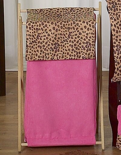 Cheetah Pink Laundry Hamper by Sweet Jojo Designs
