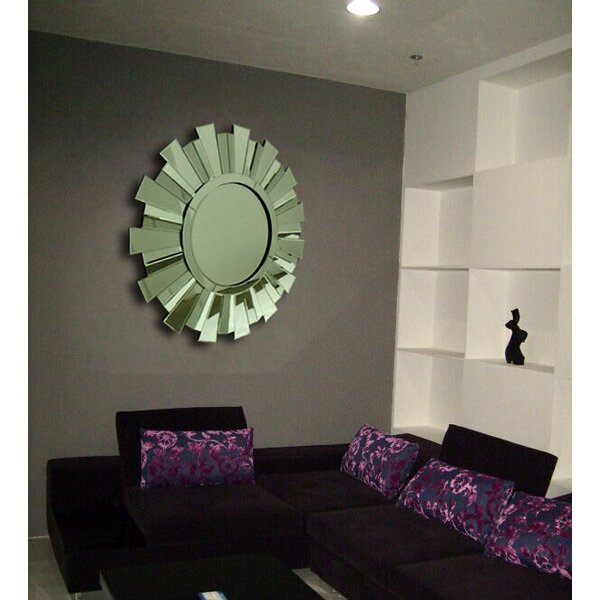 Round Dub Wall Mirror by Fine Mod Imports