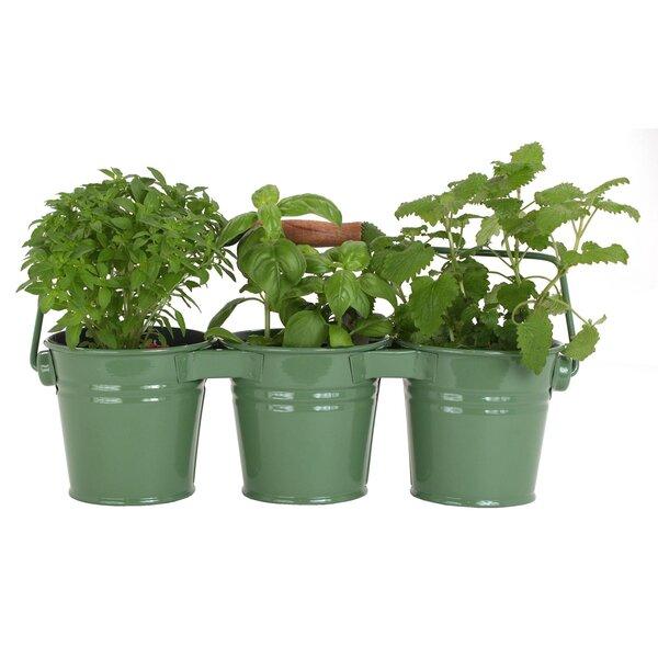 Metal Pot Planter (Set of 18) by Houston International