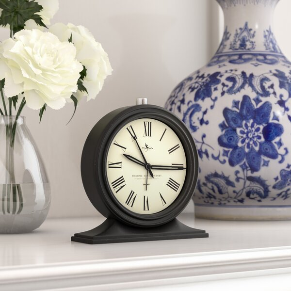 Tabletop Clock by Charlton Home