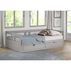 bechtold twin platform day bed with storage