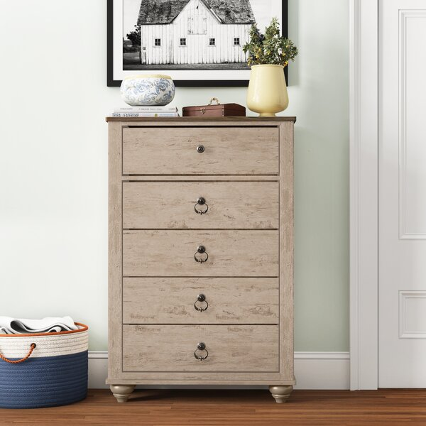 Tavistock 5 Drawer Chest by Three Posts Teen