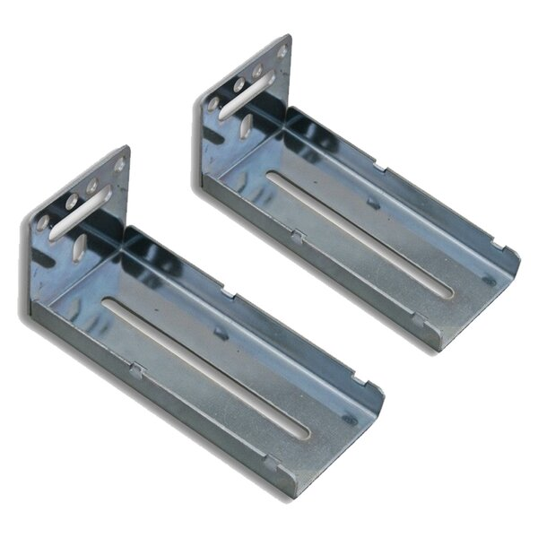 Rear Socket Bottom Mount Drawer Slide (Set of 2) by Custom Service Hardware