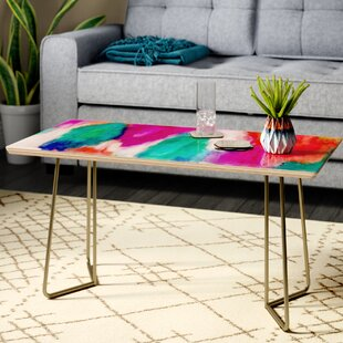 Compare prices Jacqueline Maldonado 'Epiphany 2' Coffee Table By East Urban Home
