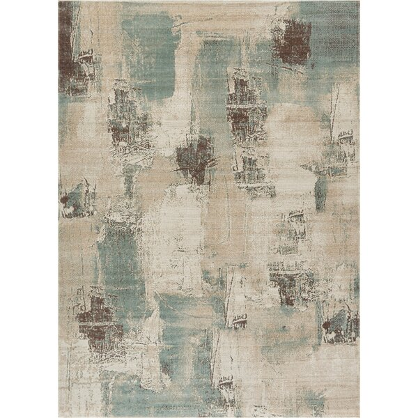 Costello Blue/Beige Area Rug by 17 Stories