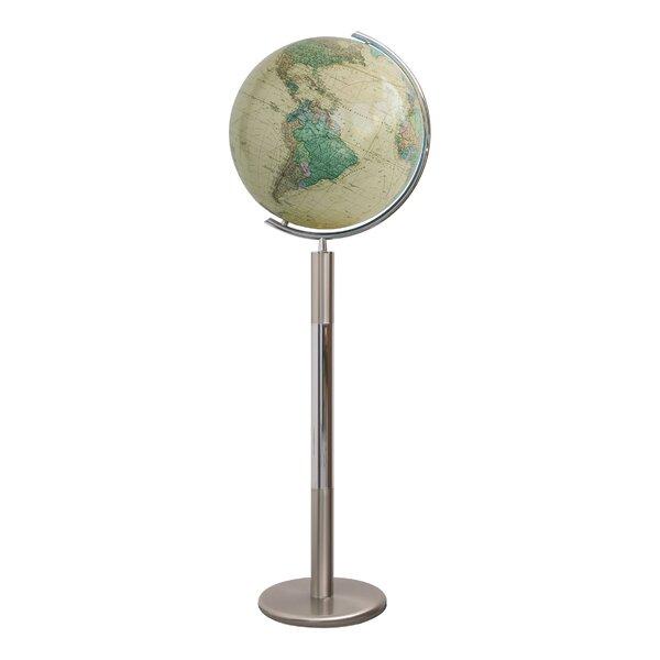 Hannover Royal Illuminated Floor Globe by Columbus Globe