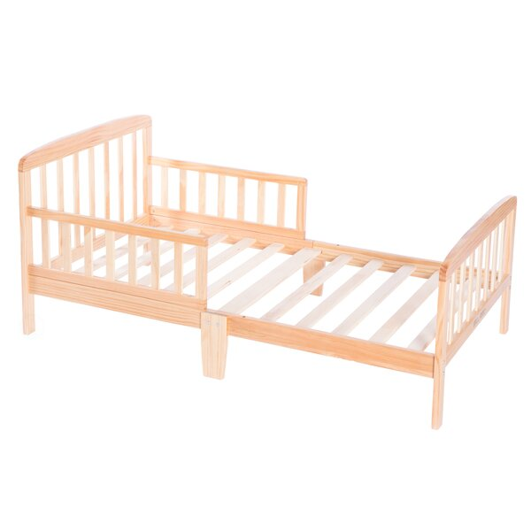 Hammett Wooden Convertible Toddler Bed by Harriet Bee