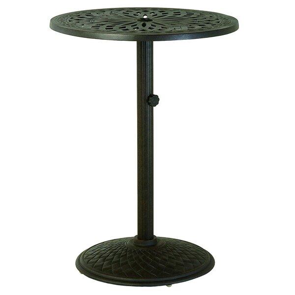 Merlyn Metal Bar Table by Fleur De Lis Living