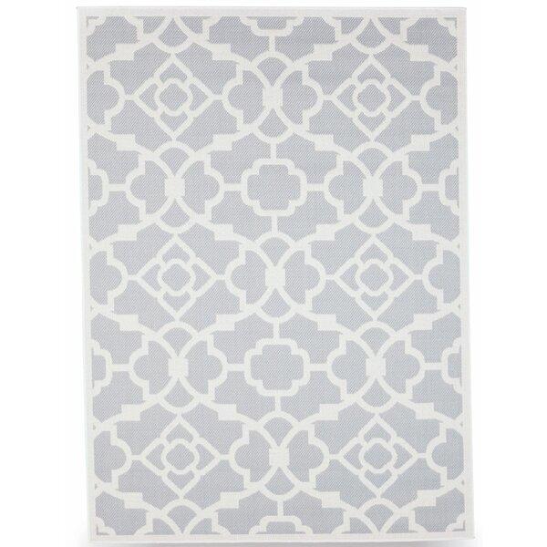 Monaco Slate Gray Indoor/Outdoor Area Rug by Budge Industries