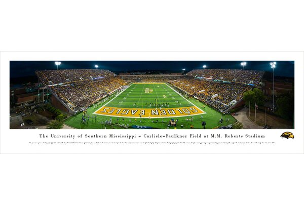 NCAA Southern Mississippi, University of Photographic Print by Blakeway Worldwide Panoramas, Inc