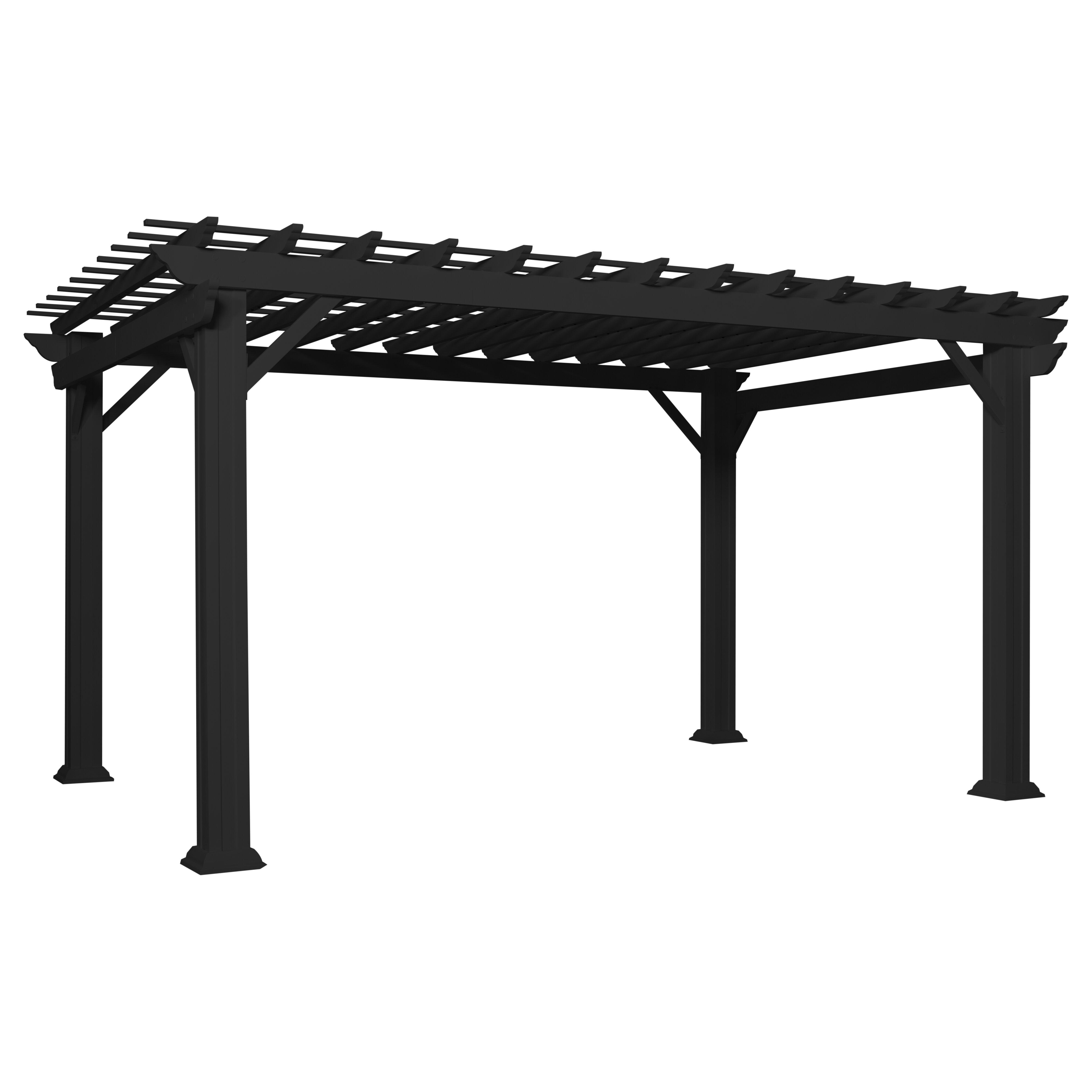 Traditional Steel Pergola
