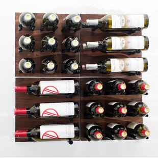 Grain and Rod 30 Bottle Wall Mounted Wine Rack by VintageView