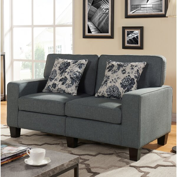 Bulwell King Loveseat by Ebern Designs