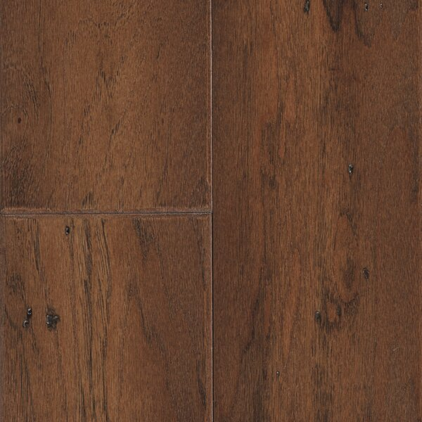 Hometown 5 Engineered Hickory Hardwood Flooring in Mustang by Mannington