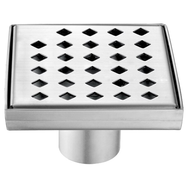 Mississippi River 2 Grid Shower Drain by Dawn USA