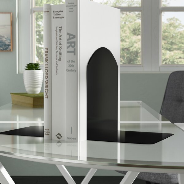 Magnetic Bookends (Set of 2) by Symple Stuff