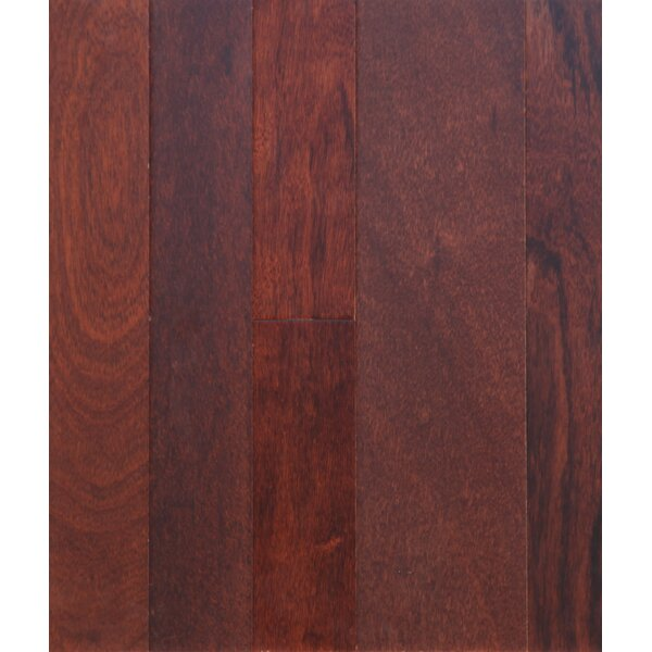 3 Engineered Mozambique Ovengkol Hardwood Flooring in Latte by Easoon USA