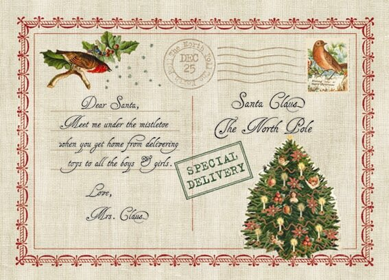 Letter to Santa Expanded Placemat (Set of 4) by Carnation Home Fashions