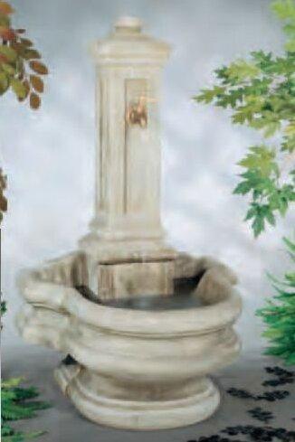 Wall Concrete Well Fountain by Henri Studio