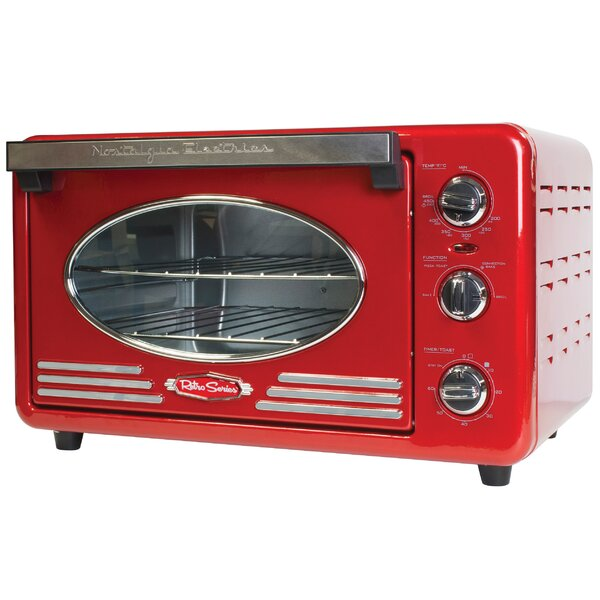 Retro Series 0.78 Cu. Ft. Toaster Oven by Nostalgia