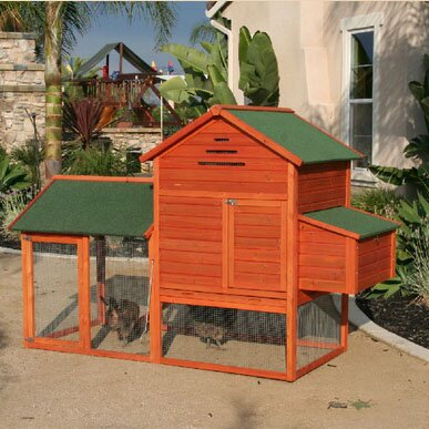 Raised Wooden Coop by Rugged Ranch