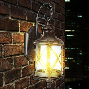 Shop For Lux 1-Light Outdoor Wall Lantern By eTopLighting