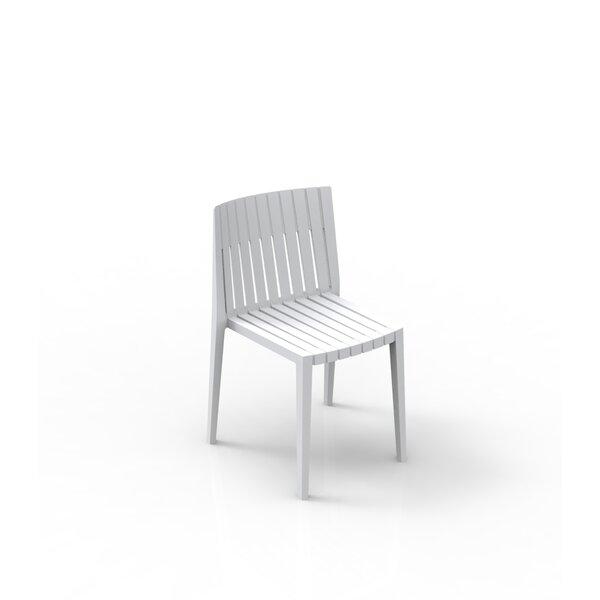Spritz Stacking Patio Dining Chair (Set of 4) by Vondom Vondom