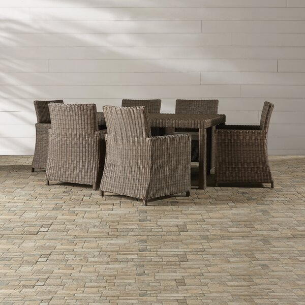 Bair 7 Piece Dining Set with Cushions by Brayden Studio