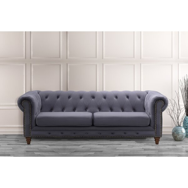 Arnone Chesterfield Sofa by Darby Home Co