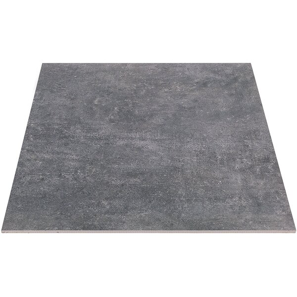 Malaga 24 x 24 Porcelain Field Tile in Smokey Gray by Splashback Tile