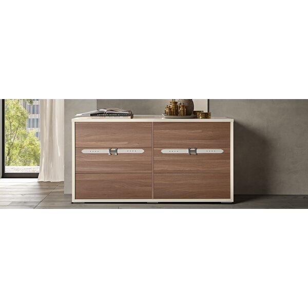 Winfrey Modern Style 6 Drawer Double Dresser by Brayden Studio