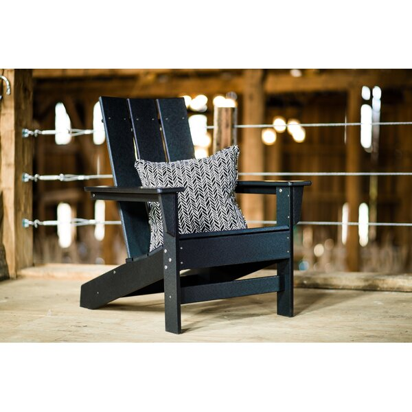 Oakdale Plastic/Resin Adirondack Chair By Breakwater Bay